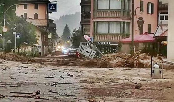 Maltempo in Trentino