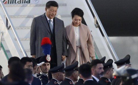 presidente cine e moglie
