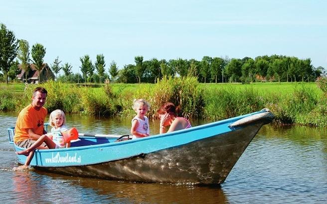 Olanda in barca
