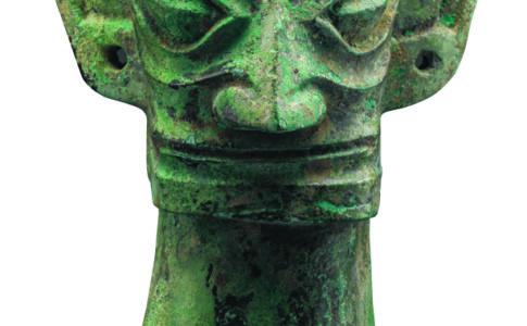 Museo-di-Sanxingdui_Testa-di-bronzo-Epoca-Shang-1600-1046-a.C.