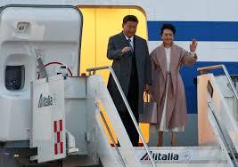 Xi Jinping e moglie