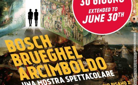 Bosch, Brueghel, Arcimboldo proroga locandina