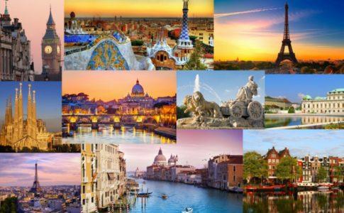città europee
