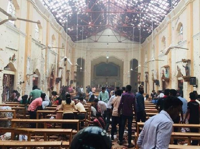 Sri Lanka attentato
