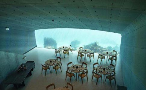 Oslo ristorante subacqueo