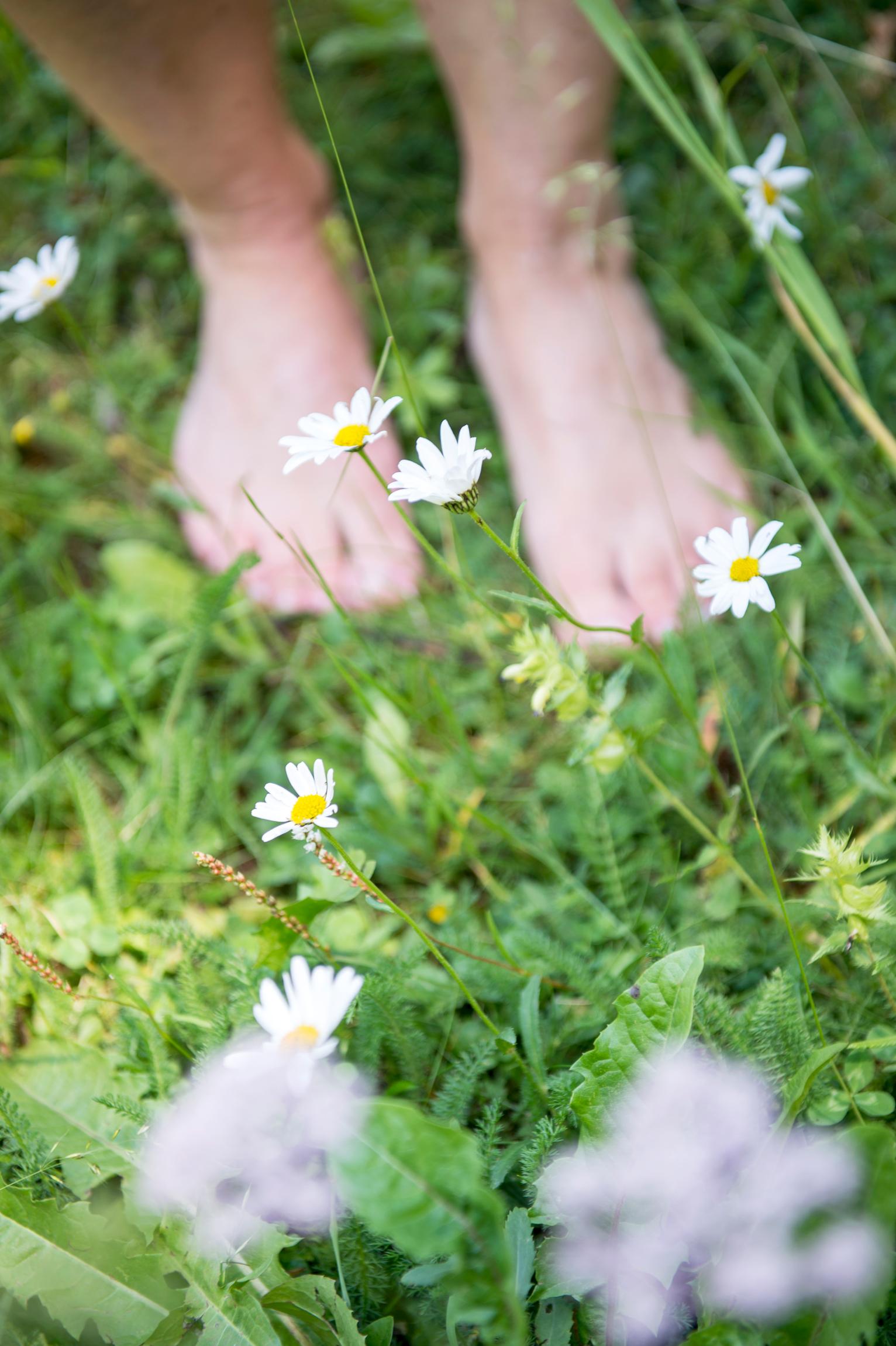 Sognare Di Camminare Scalzi a piedi nudi nel parco alla scoperta del barefooting - tgtourism