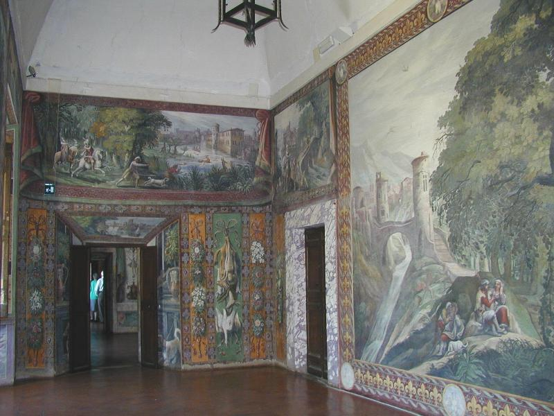 Villa d'Este salone della caccia