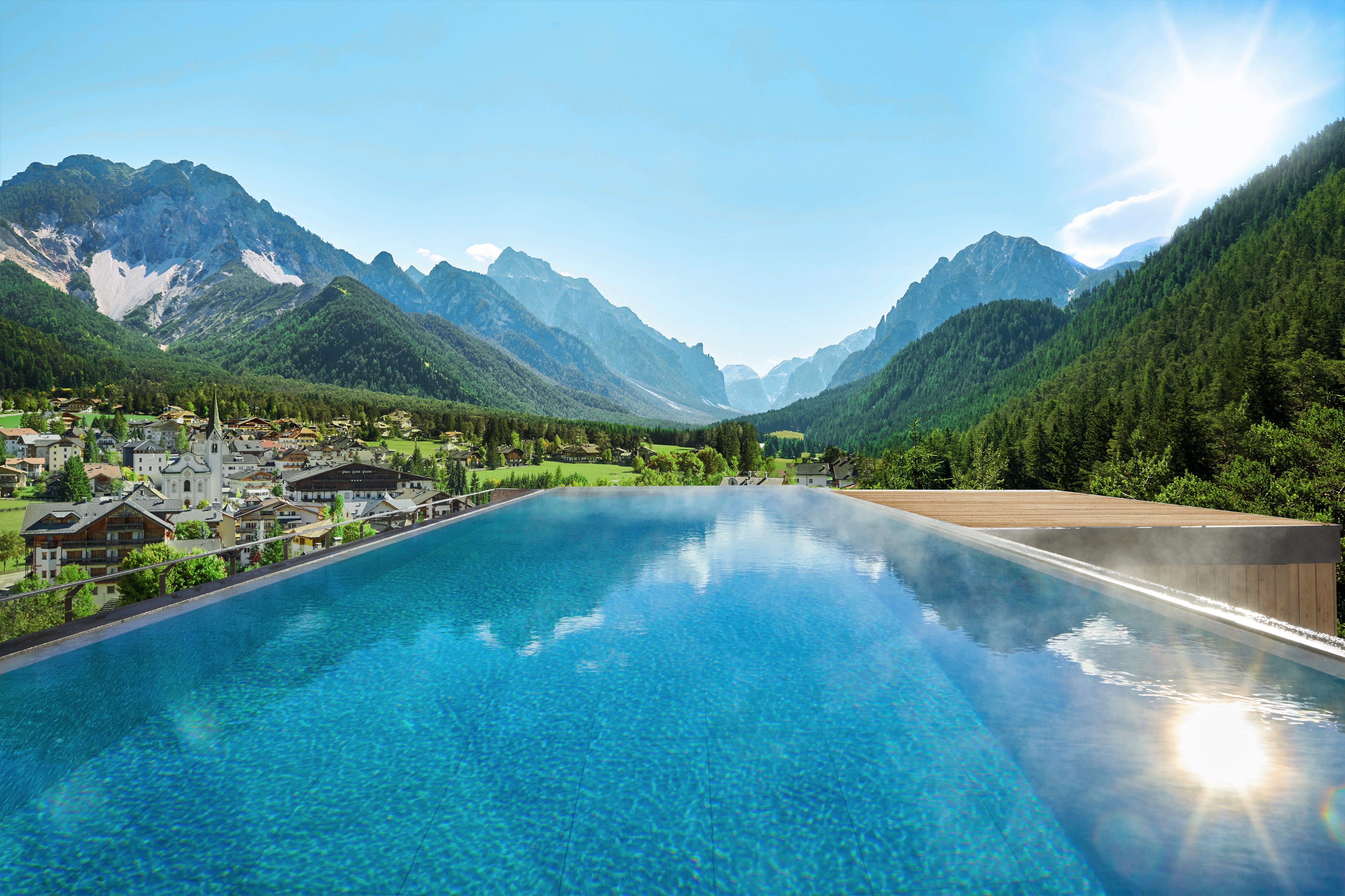 Paesaggi D Acqua Piscine le più belle piscine all'aperto del trentino e dell'alto