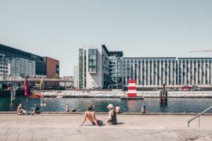 Danimarca bagno in città