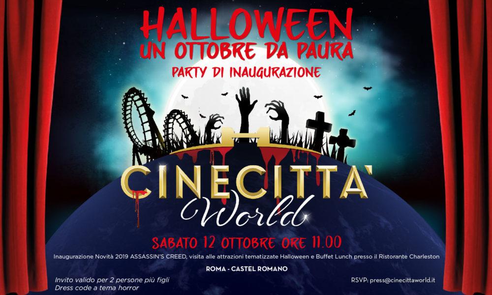 halloween Cinecittà