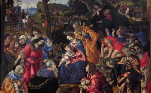 Dipinto conservato negli Uffizi