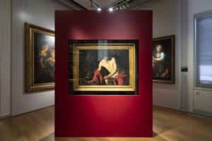 Il San Giovanni Battista di Caravaggio ospitato nei Musei Reali di Torino, Galleria Sabauda.