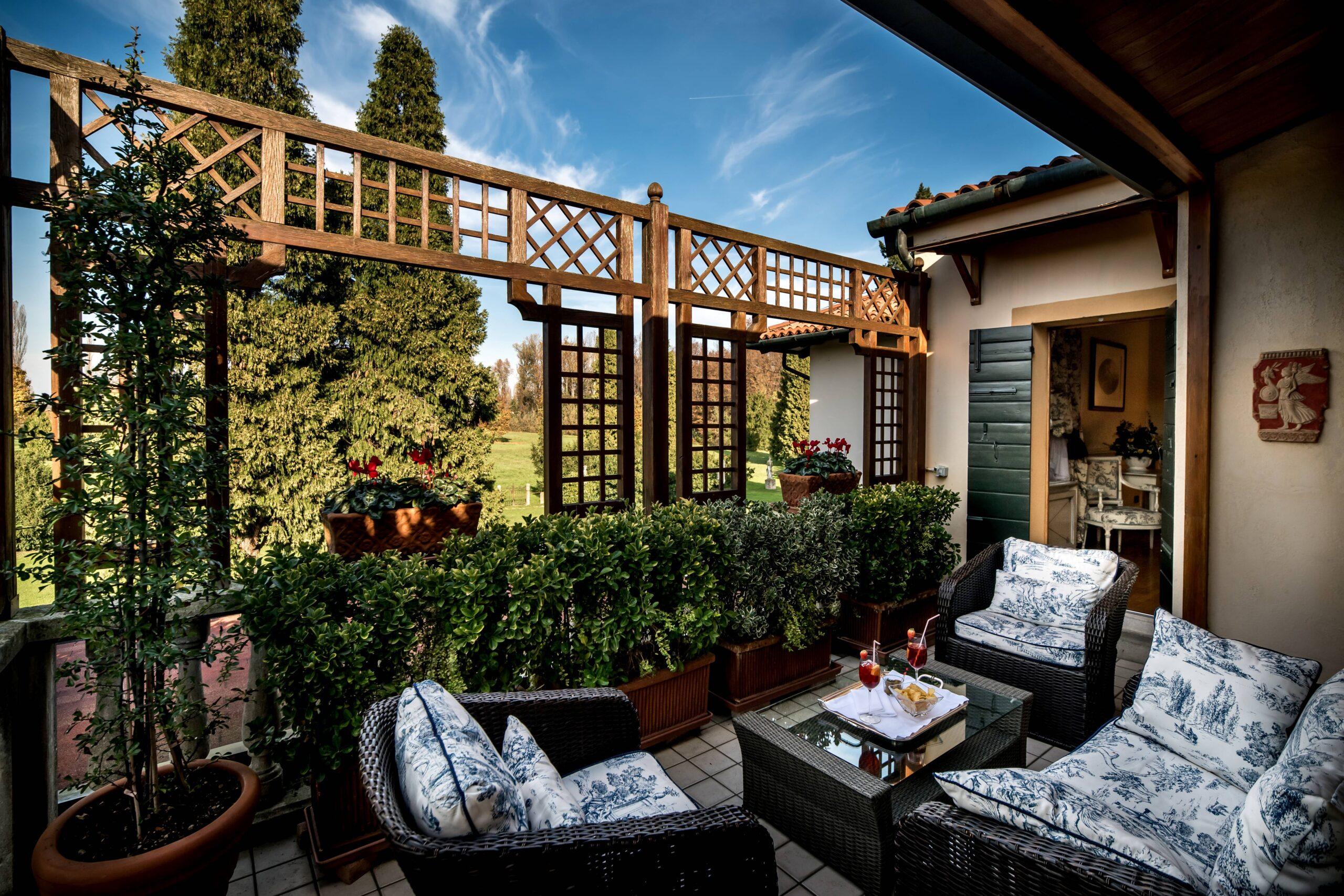 Dehor di Romantik Hotel Villa Margherita.
