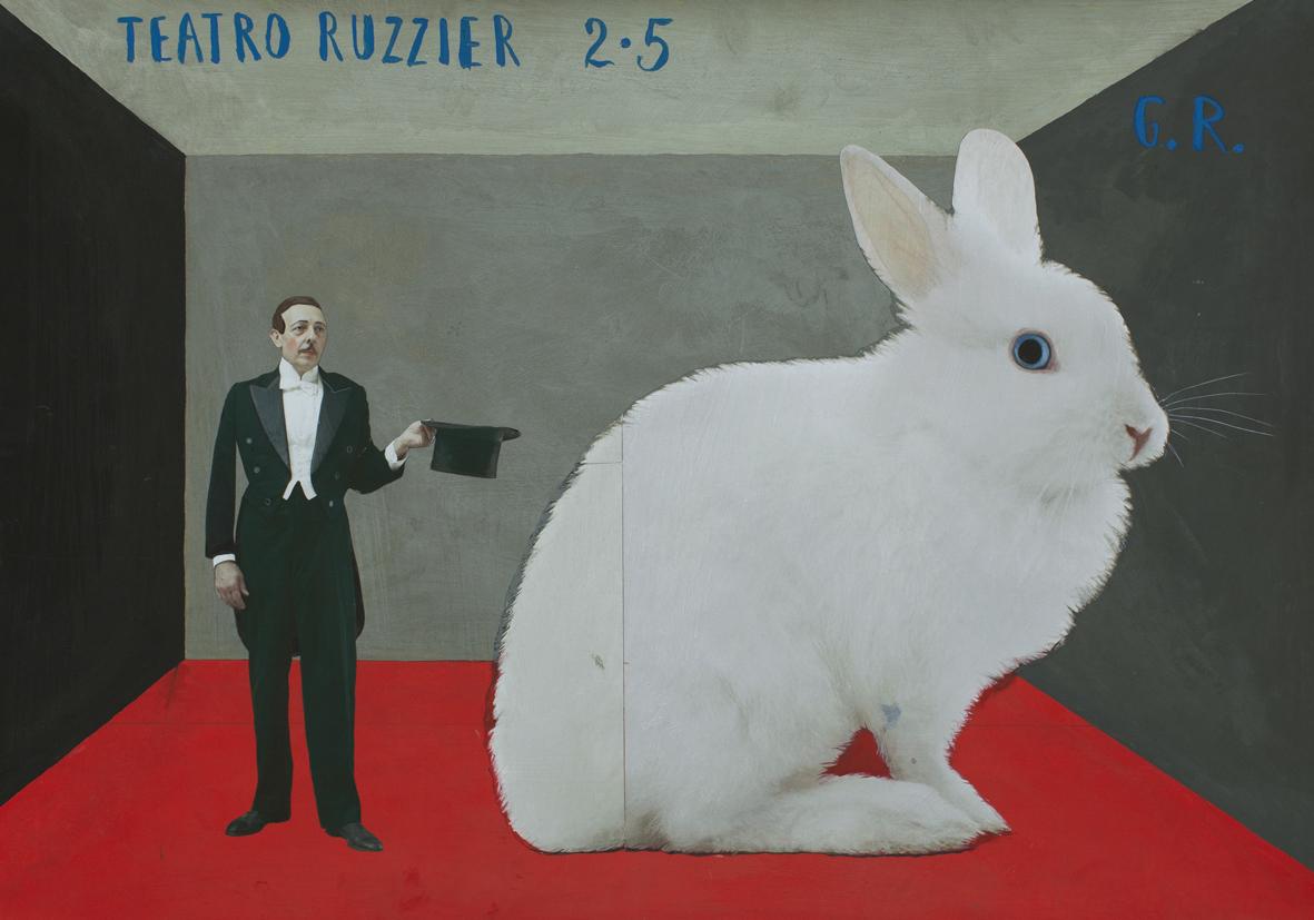 Paolo Ventura: Teatro Ruzzier (da G.R. Grazia Ricevuta) 2019 © Paolo Ventura