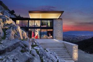 Airbnb, Pozzuolo, Toscana, villa con vista