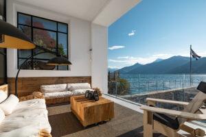 Airbnb: dimora con vista sul lago di como