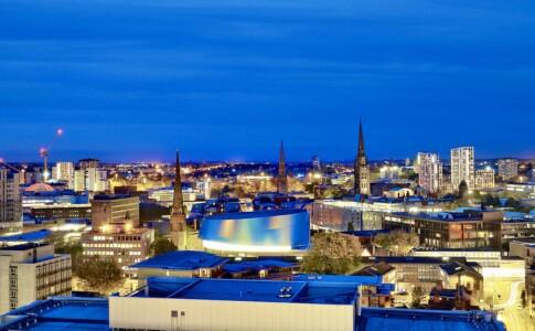 Coventry City, vista panoramica.