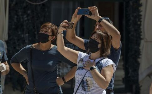 Ripartenza del turismo Foto IPP/Maurilio Boldrini