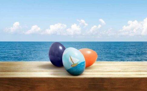 Uova di Pasqua Fonte: ANSA Pasqua in zona rossa