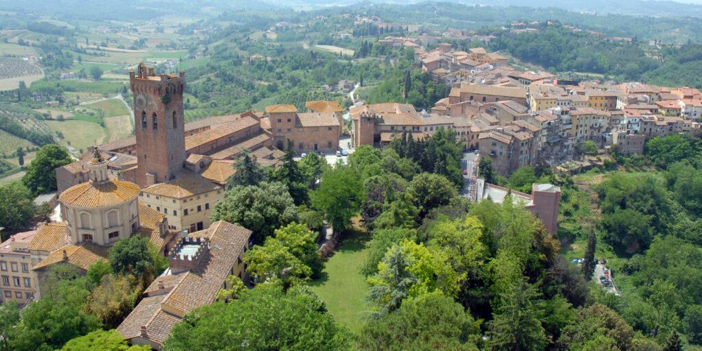 Luoghi di Dante a Pisa. San Miniato. Via Visit Tuscany.