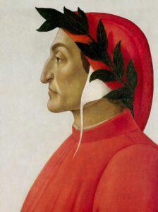 Dante Alighieri. Fonte: Wikimedia Commons