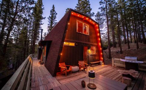 Airbnb cabin , casa in legno nel bosco