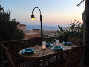 Vista sul mare ad Isola Rossa, Sardegna
