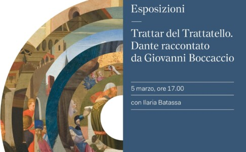 Dante 700. Locandina mostra. Fonte: Umbria Tourism