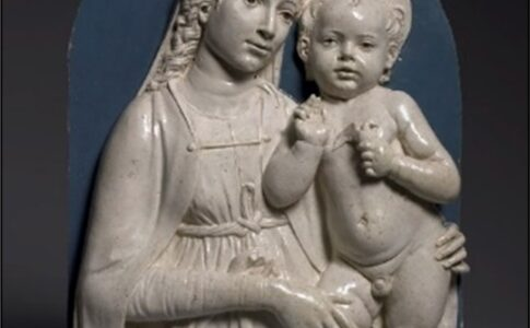 """Bassorilievo """"Madonna con Bambino"""" di Luca Della Robbia Arte in ostaggio"""
