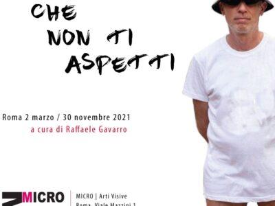 """Locandina """"Il Boresta che non ti aspetti"""", MICRO."""