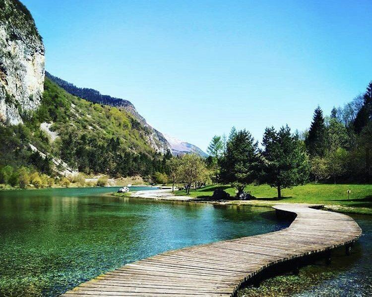 Lago di Nembia, Dolomiti Paganella