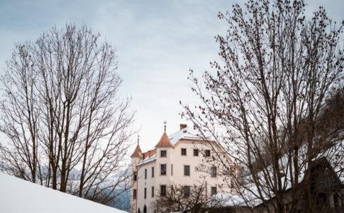 Maurn: residenza storica fra Val Badia e Val Pusteria. Esterno. Fonte ufficio stampa.