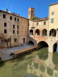 Portici su fiume. Fonte: Fondazione delle Pescherie di Giulio Romano