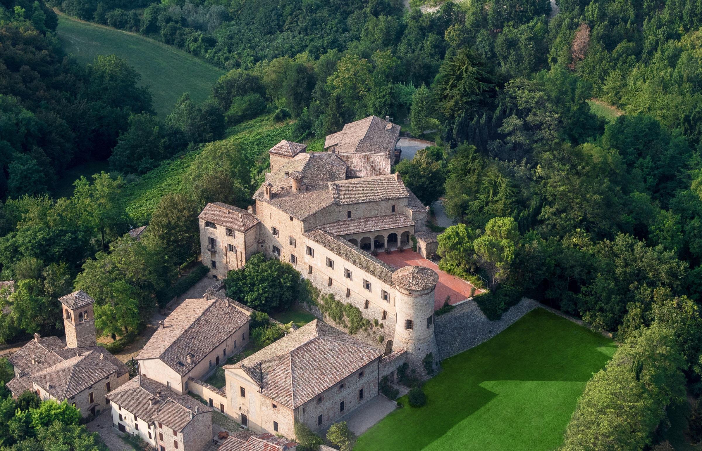 Circuito Castelli del Ducato. Primavera 2021. Castello Scipione (via Castelli del Ducato).