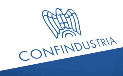 Confindustria Alberghi logo. Confindustria vs Governo. Via Confindustria