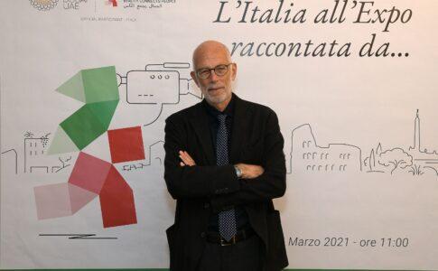 Expo 2020 Dubai: Gabriele Salvatores, regista premio Oscar, per Padiglione Italia (foto Simone Comi).