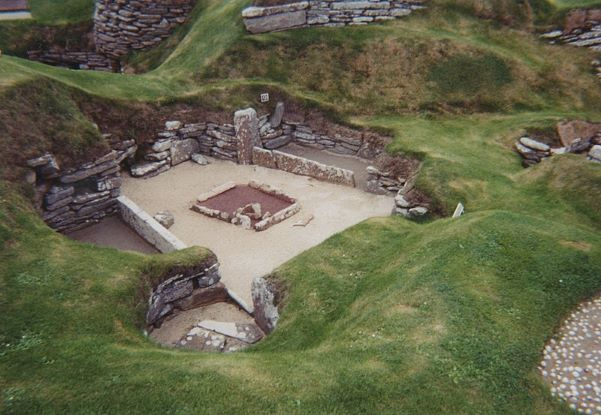 Archeologia Gran Bretagna. Skara Brae. Via Wikimedia Commons.