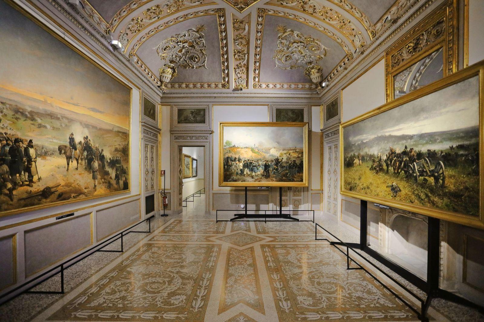 Milano MuseoCity 2021. Interno delle Gallerie d'Italia, Milano