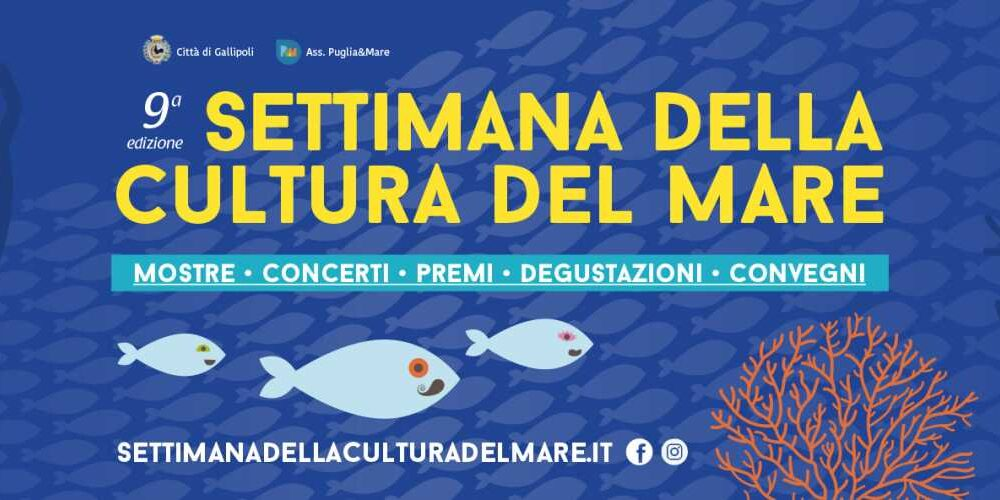 Locandina settimana della cultura del mare