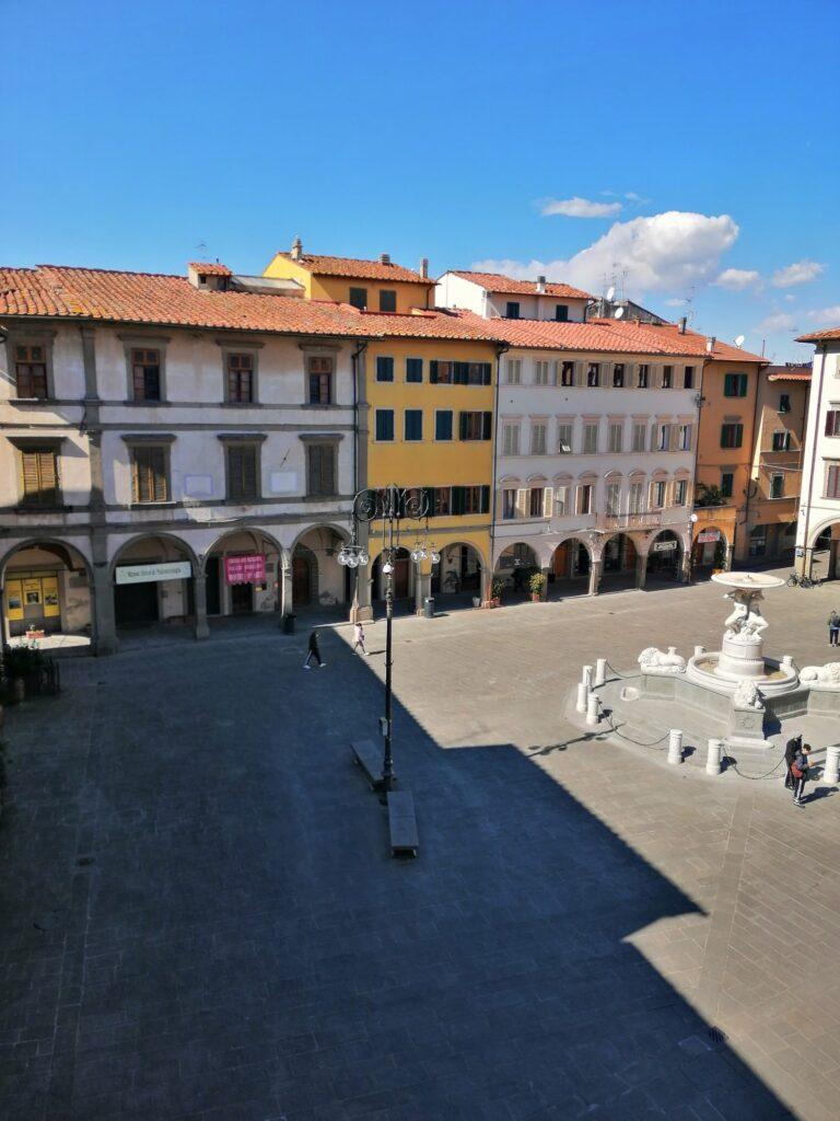 Piazza Farinata degli Umberti EmpoliCredit: Empoli musei