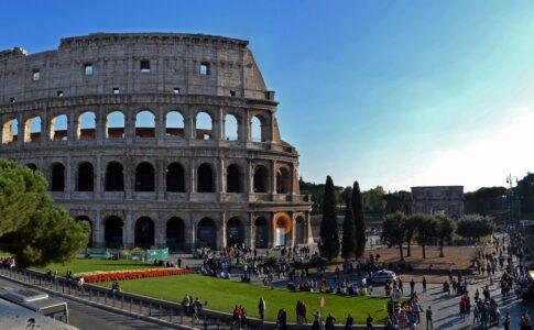 Colosseo, Roma. Fonte: Pixabay Foto di Treptower Alex