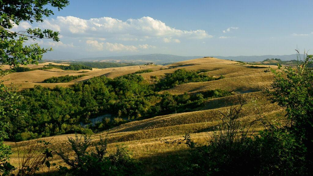 paesaggio collina Credit: Franco Vannini