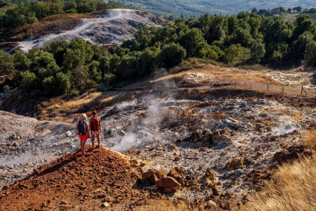 Fumarole e geyser Credit: Alice Russolo e Nicola Santini