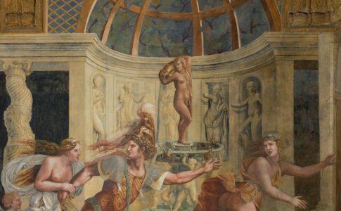 Affresco Mantova Palazzo Te © Foto Pontiroli