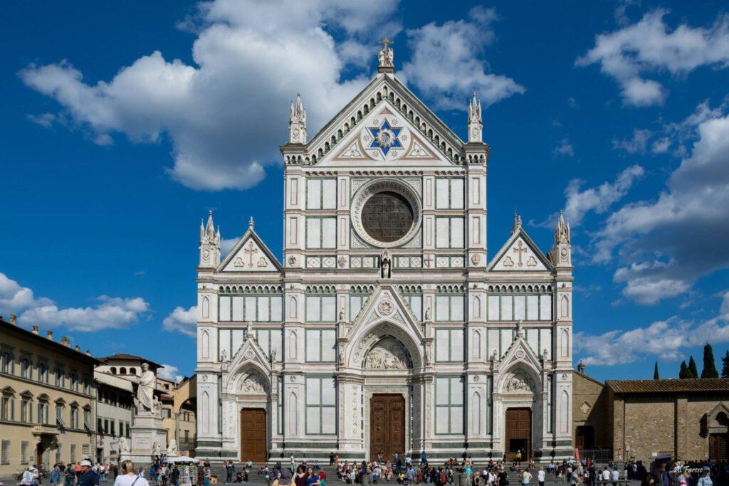 Facciata Chiesa Santa Croce Credit: Alessandro Farese Anniversario Dante