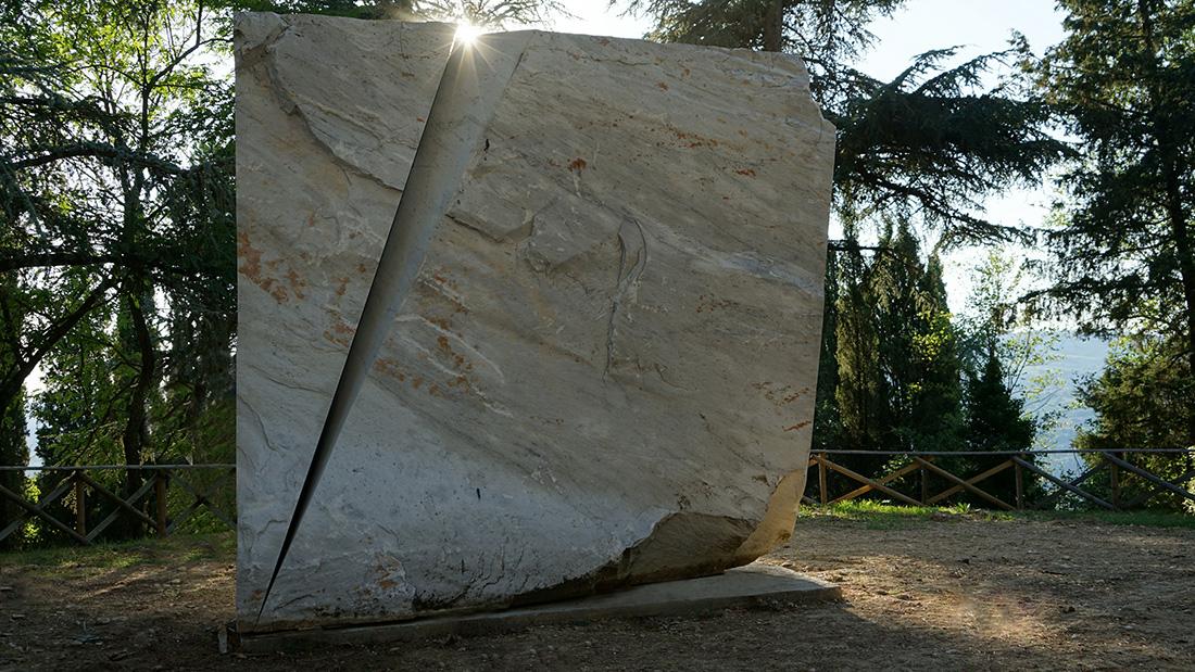 Beverly Pepper Park. A Todi, sculture outdoor di Land Art. Ph. Umbria Tourism.