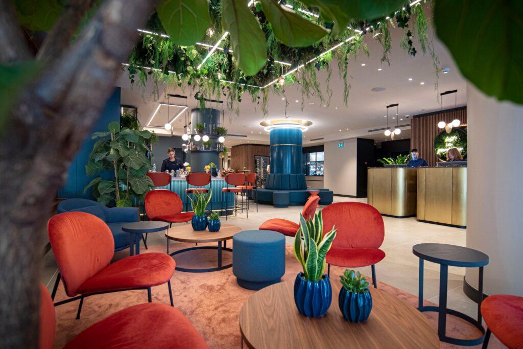 Lugano, hotel LUGANODANTE. PH. profilo Facebook della struttura.
