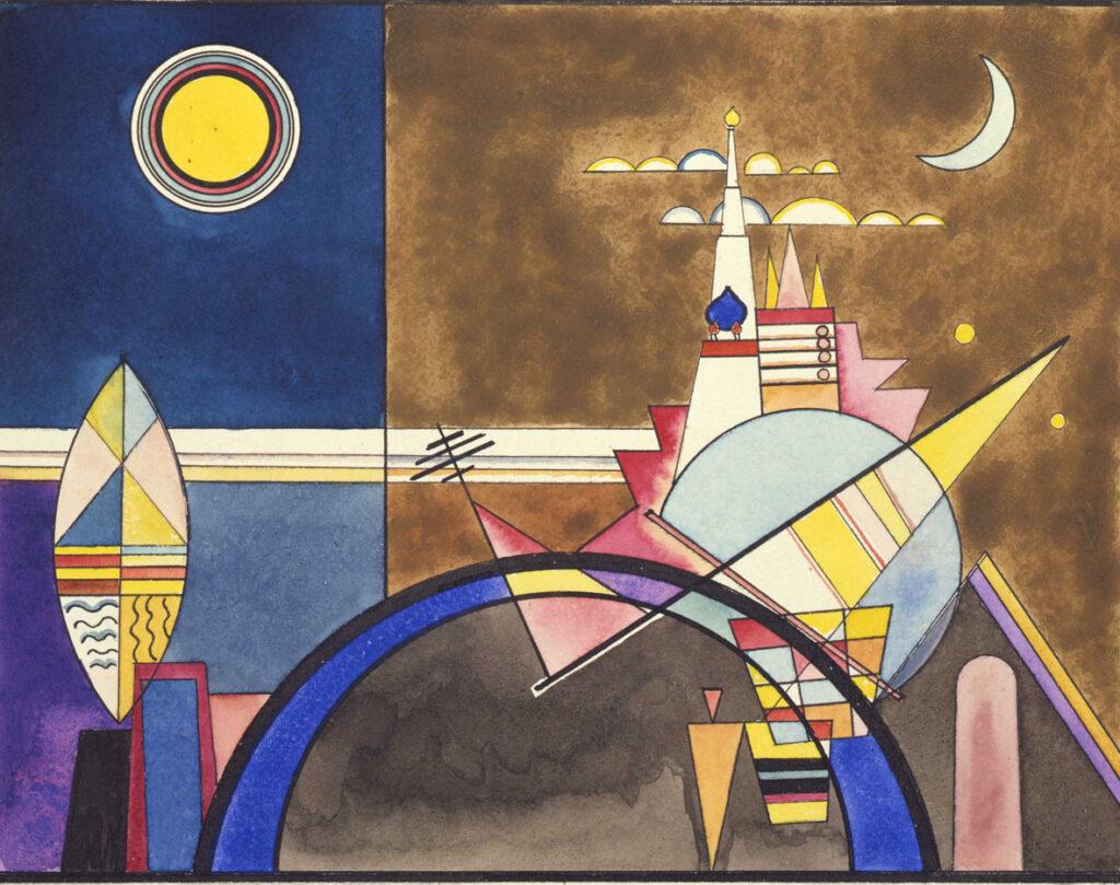 Dipinto di Kandinskij