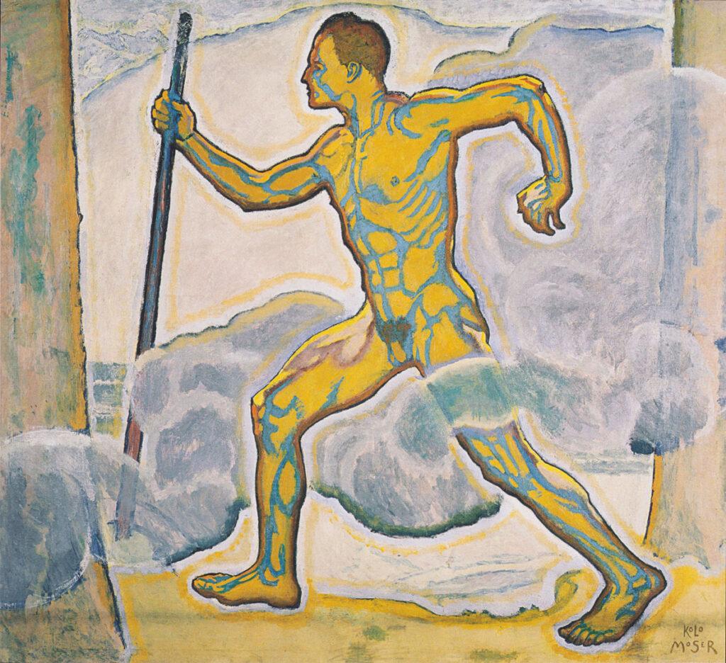 Dipinto di Koloman Moser Vedere la musica