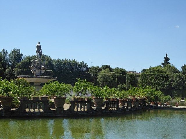 Boboli (complesso Uffizi/Pitti). Via Wikimedia Commons.
